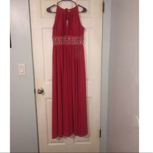 R & M Richards Dresses - Coral Prom Dress